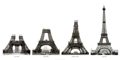 Pictures  Eiffel Tower  Built on For Designing The Original Eiffel Tower Which Was Built In Less