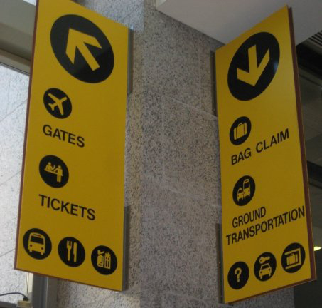 Airport Signs And Symbols