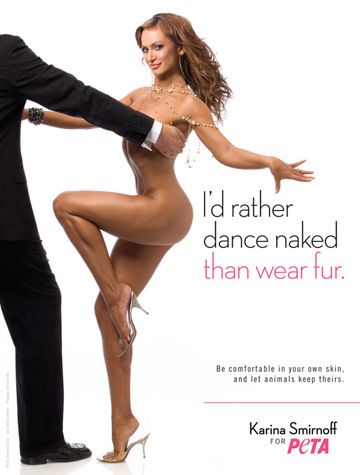 Can not Rather naked than wear fur opinion