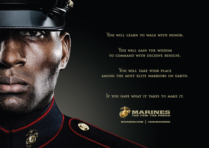 Patriotic Propaganda: The Marines
