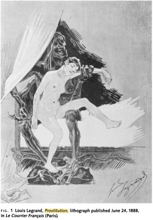 prostitues grotesque art impressionist